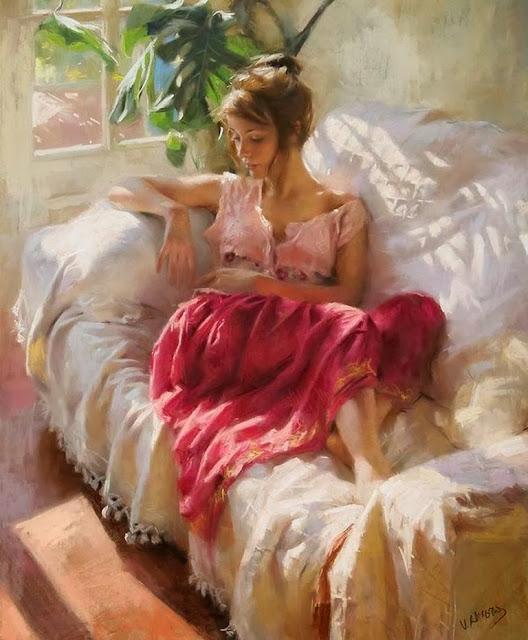 pinturas-mujeres-descansando