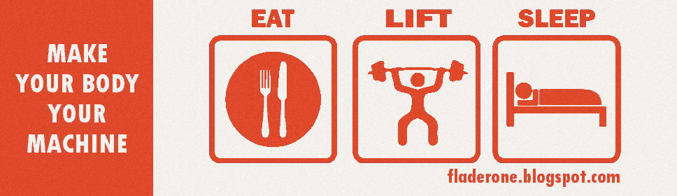 EAT. LIFT. SLEEP.
