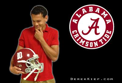 2014 WR Derek Kief pondering Alabama