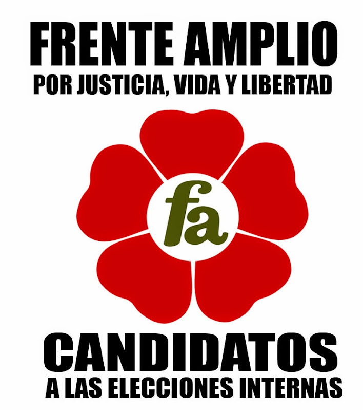 Candidatos a las internas