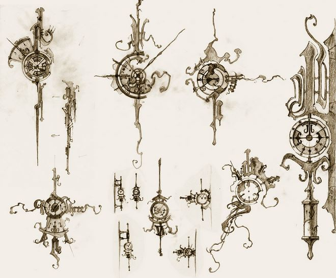 Gallery For gt Steampunk Gear Sketches