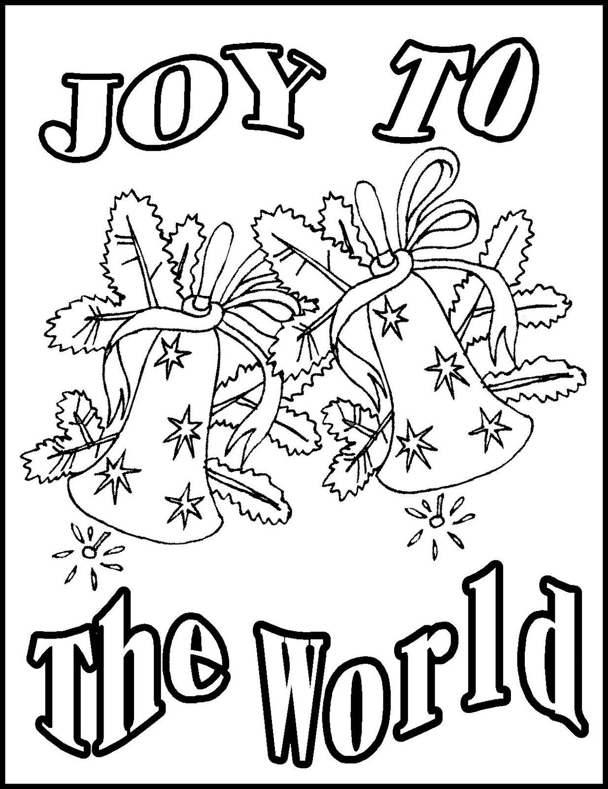 christian christmas coloring pages - photo#30