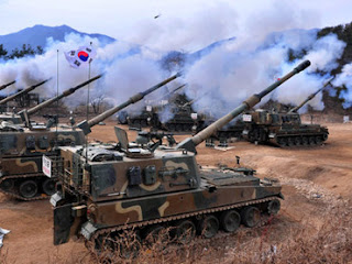 la proxima guerra corea del norte y del sur enfrentadas lanzamiento misiles
