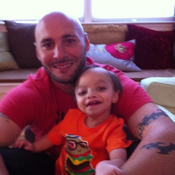 Tanner and Daddy