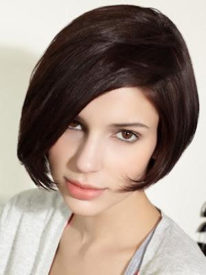 corte medio cabello lacio