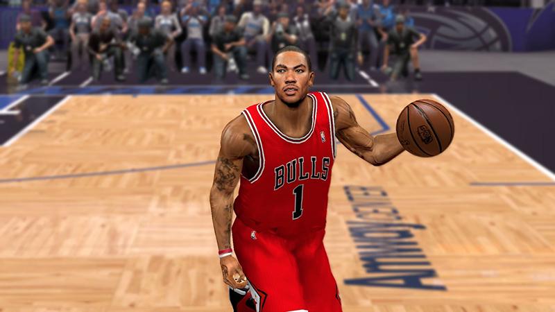 Derrick Rose NBA 2K15