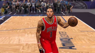 NBA 2K13 Playoffs Heat against Bulls Rose Comeback