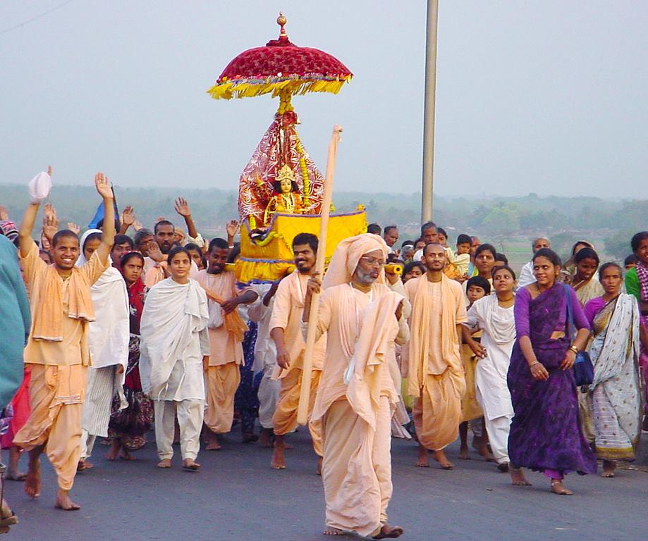 zu Caitanya Mahaprabhu -                Radha und Krsna´s