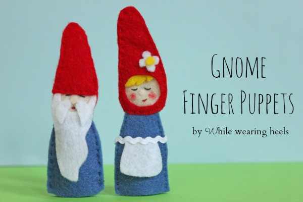 how to make finger puppets out of felt