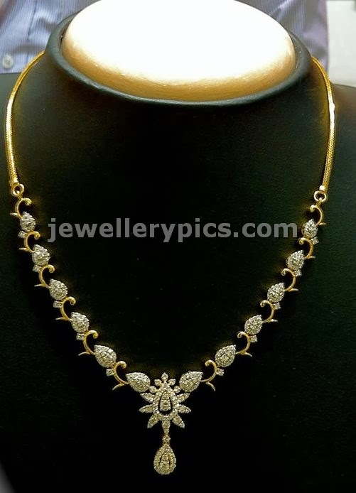 kids diamond necklace designs