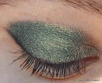 L'Oréal eyeshadow Color Infaillible in Emerald Lame