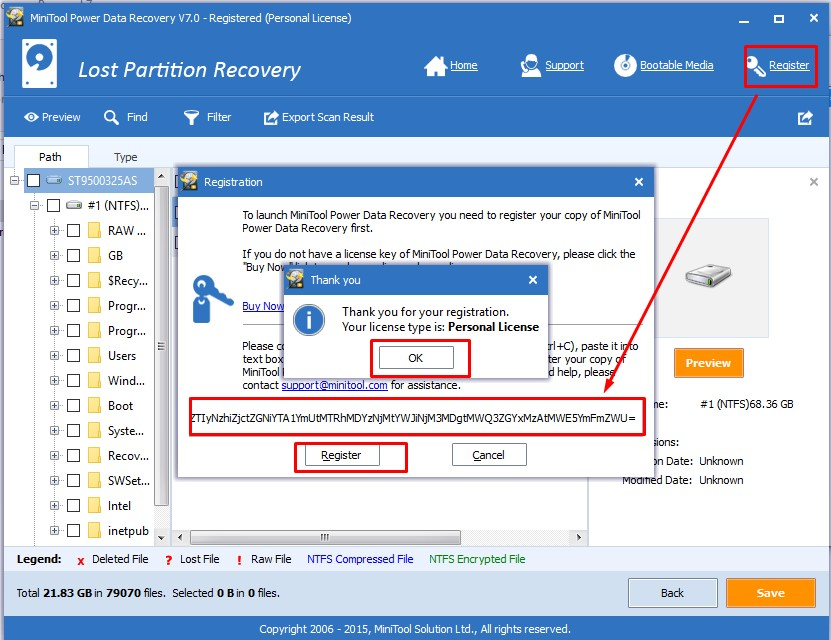 MiniTool Power Data Recovery Serial Key 2019 (100%) Free ...