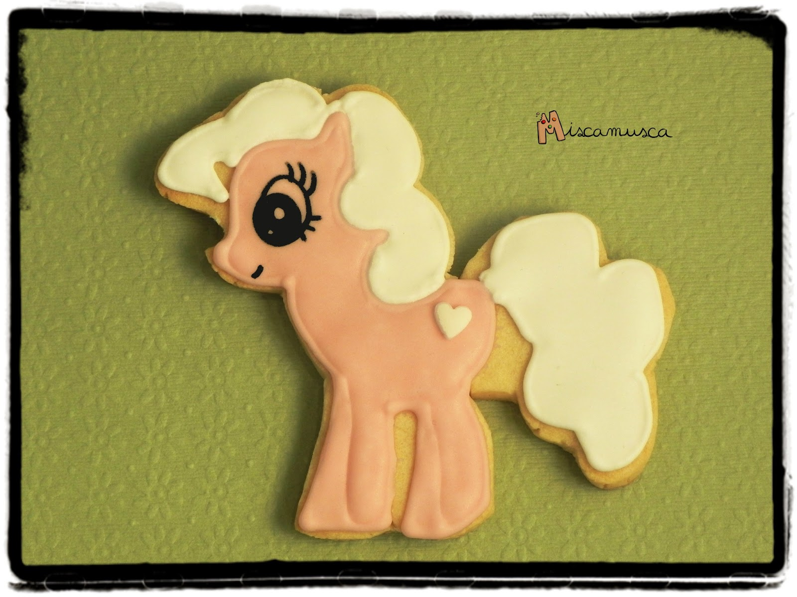 Galleta decorada mi pequeño pony