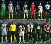 Kit do Inter de Milão 2012/13 e Kit do Juventus 2012/13 Para PES 2012 .