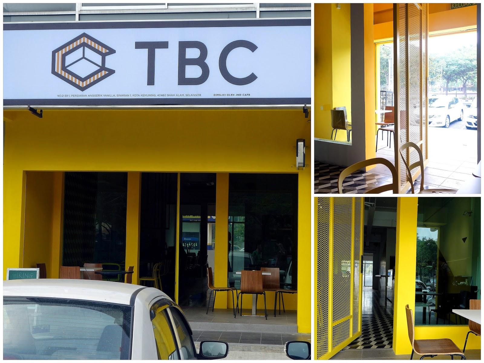 tbc cafe & le rozell french creperie @ kota kemuning, shah alam