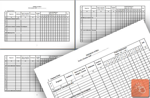 Program Kerja dan Administrasi TU (Tata Usaha) Sekolah Lengkap
