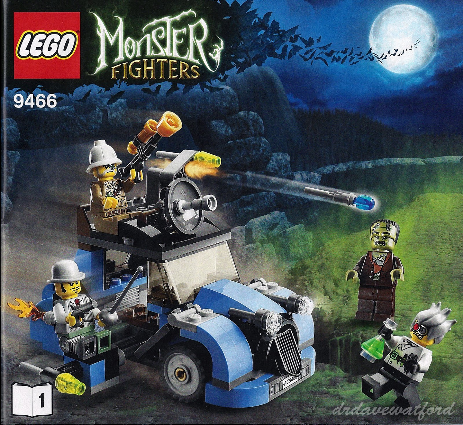lego monster 4 instructions