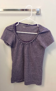 t-shirt tutorial, diy t-shirt, t-shirt refashion, refashion, upcycle, braided t-shirt collar tutorial, diy