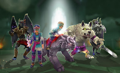 Wizard101 Terror's Hoard Pack Mount and Gear