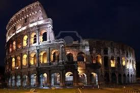 Building Rome Colosseum Building Rome Colosseum
