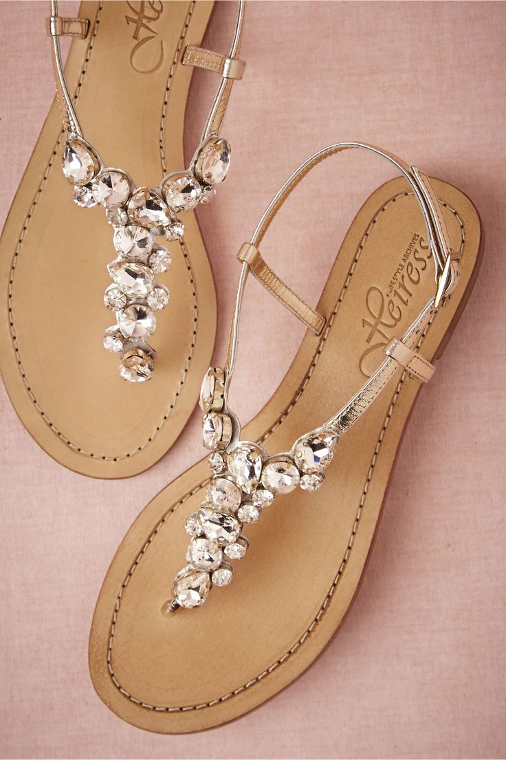 Perfect Crystal Sparkle Sandal