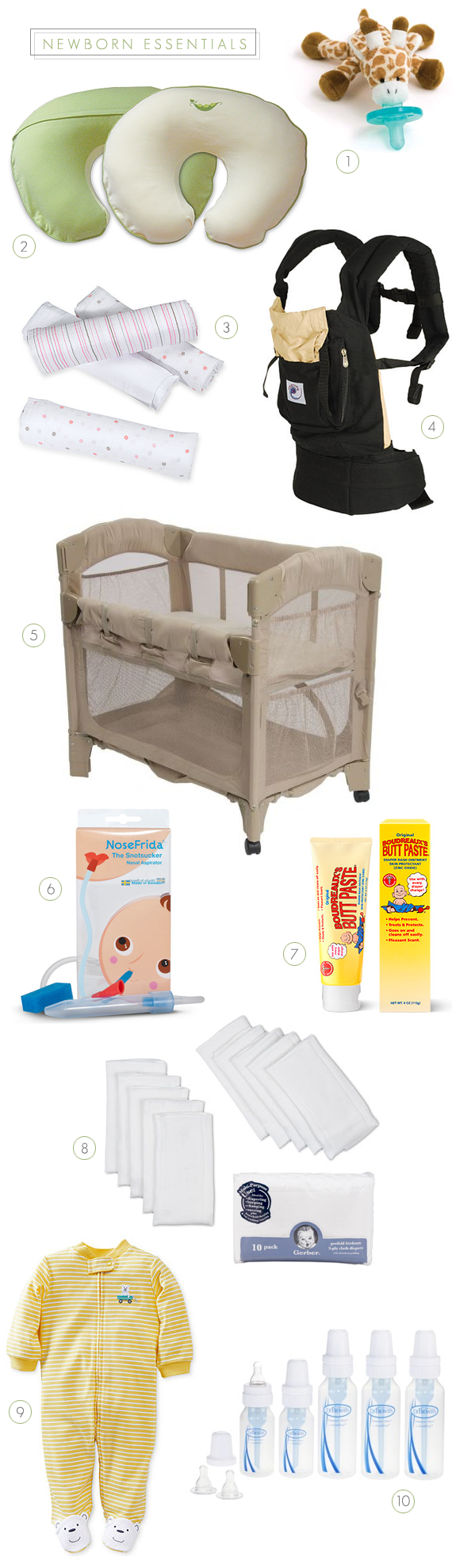 10 Essential Newborn Products