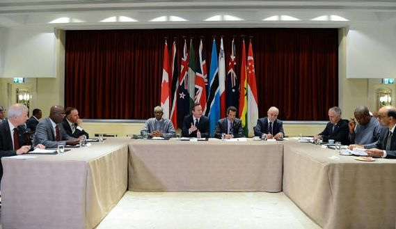 Photos: Buhari, Cameron Discuss Climate Change & Threat Of Global Extremism At CHOGM