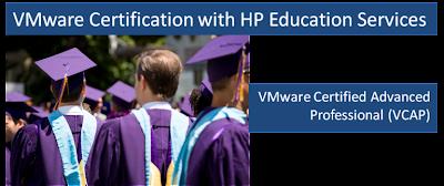 VMware Certification HP