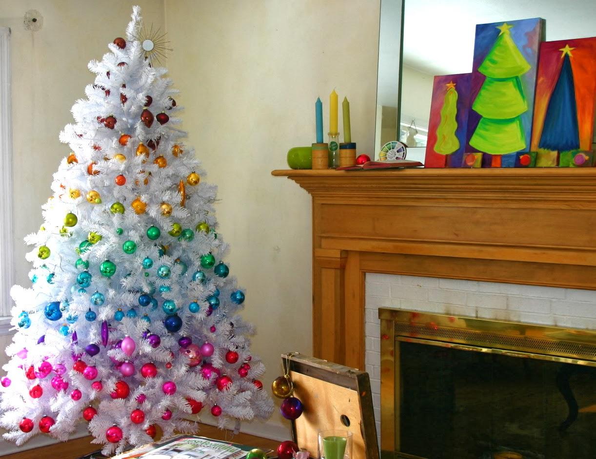 Themed White Christmas Trees White Christmas Tree White