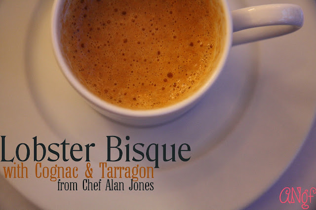 Chef Alan Jones's Lobster Bisque with Cognac & Tarragon | Anyonita Nibbles Gluten Free