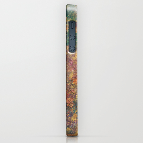 catherine masi colorful metallic watercolor iphone case