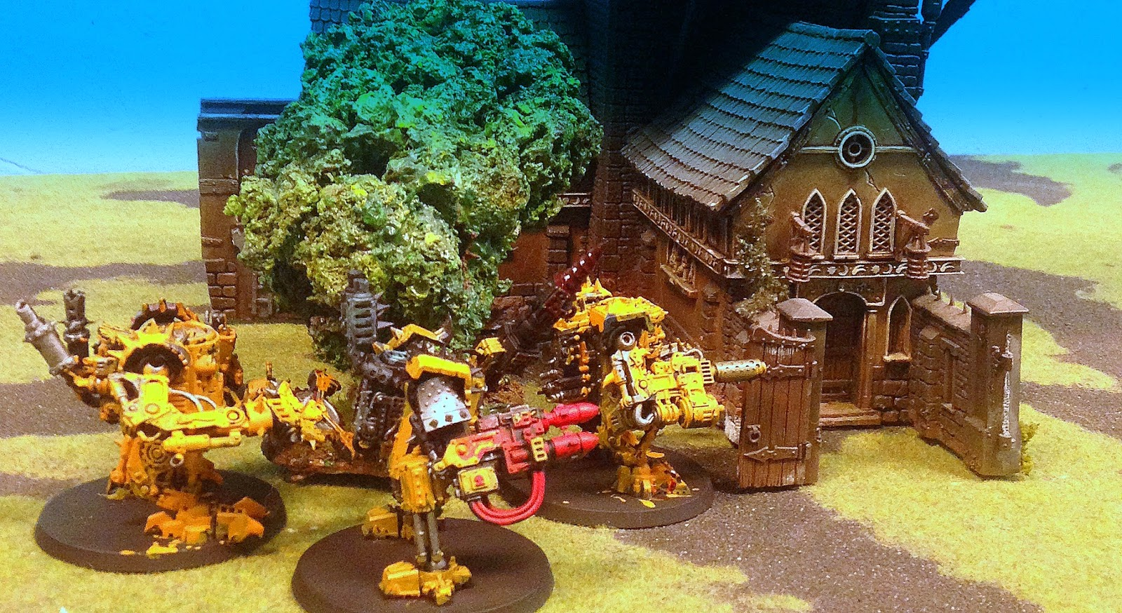 Battle Gaming One, Killi-Kans, Yellow Orks