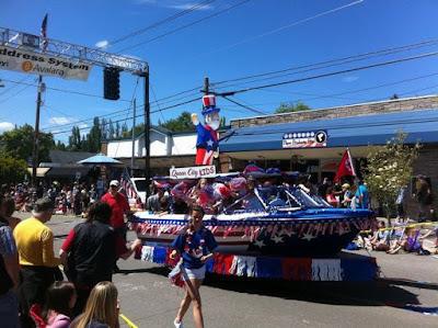 bainbridge 4 de julio, celebraciones 4 de julio, desfile 4 de julio, 4 de julio en Estados unidos