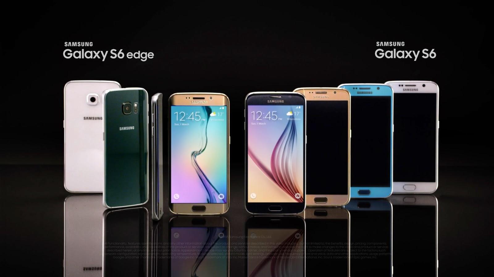 Harga Resmi Samsung Galaxy S6 dan S6 Edge di Indonesia