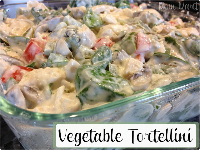 Vegetable Tortellini Recipe