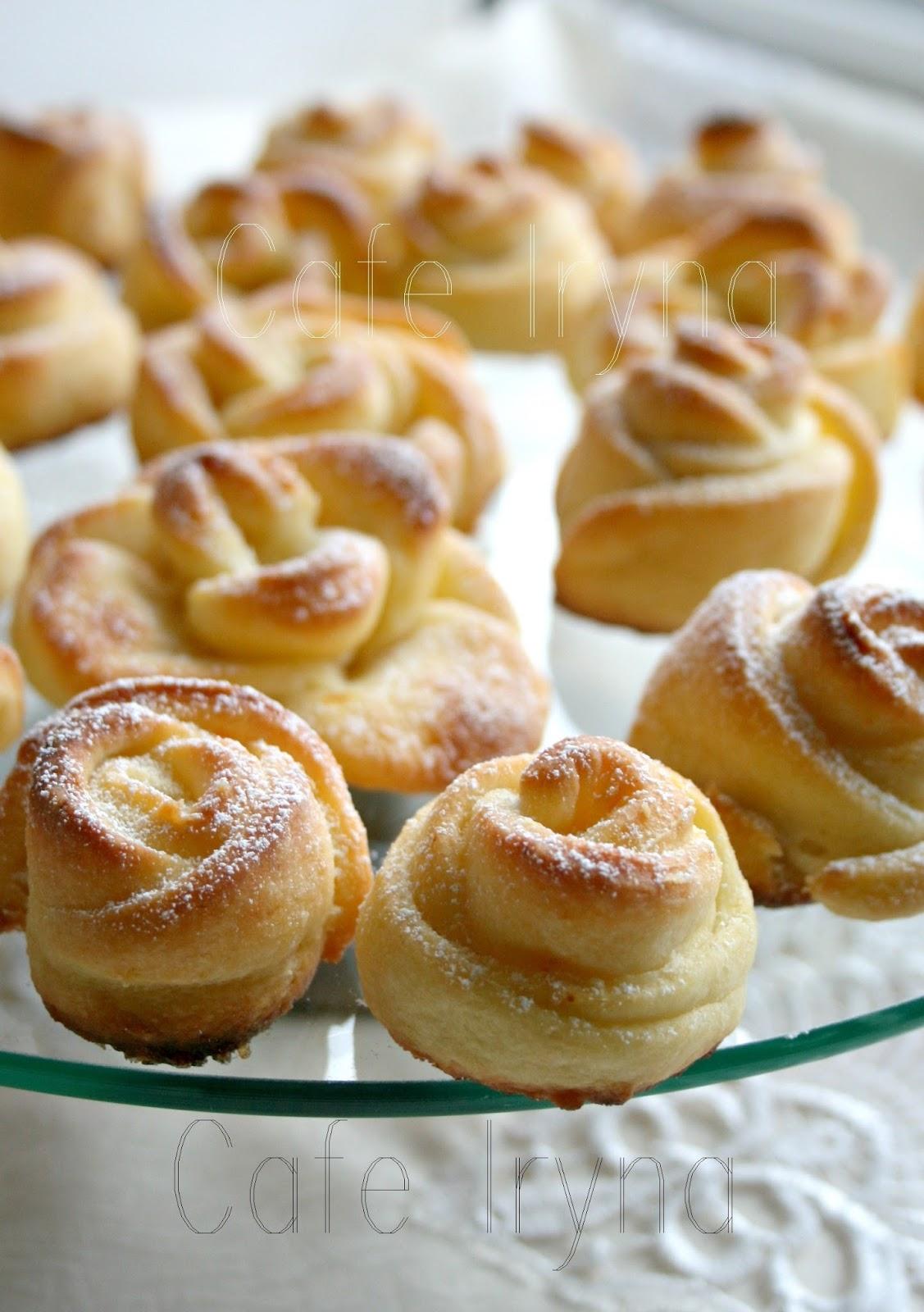 Творожное печенье розочки рецепт пошагово с безе