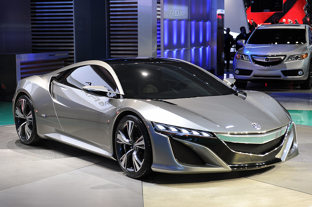 hybrid nsx sports car the 2012 acura nsx concept car honda confirmed