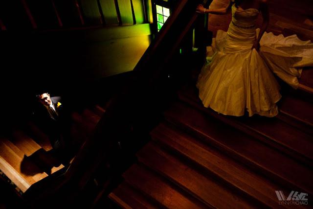 Disneyland Wedding Grand Californian Hotel First Look