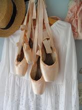 Gamla Ballerinaskor