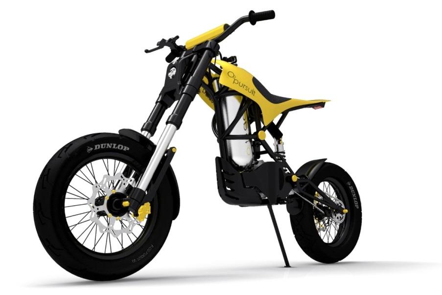 Sepeda Motor Bertenaga Udara Tekanan Tinggi