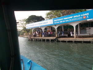 Fort Kochi/Mattancherry Boat jetty terminal.