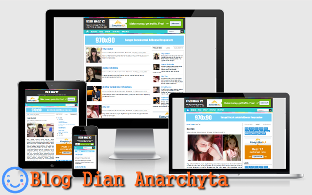 Download The FiSEO Magz Blogger Template V.2 - Dian Anarchyta