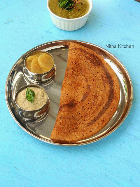 how to make dosa from readymade batter