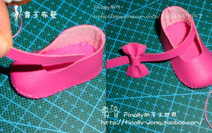 Выкройки туфельки для куклы фото 296