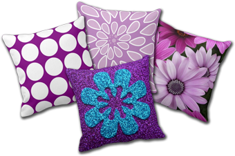 Purple Pillows