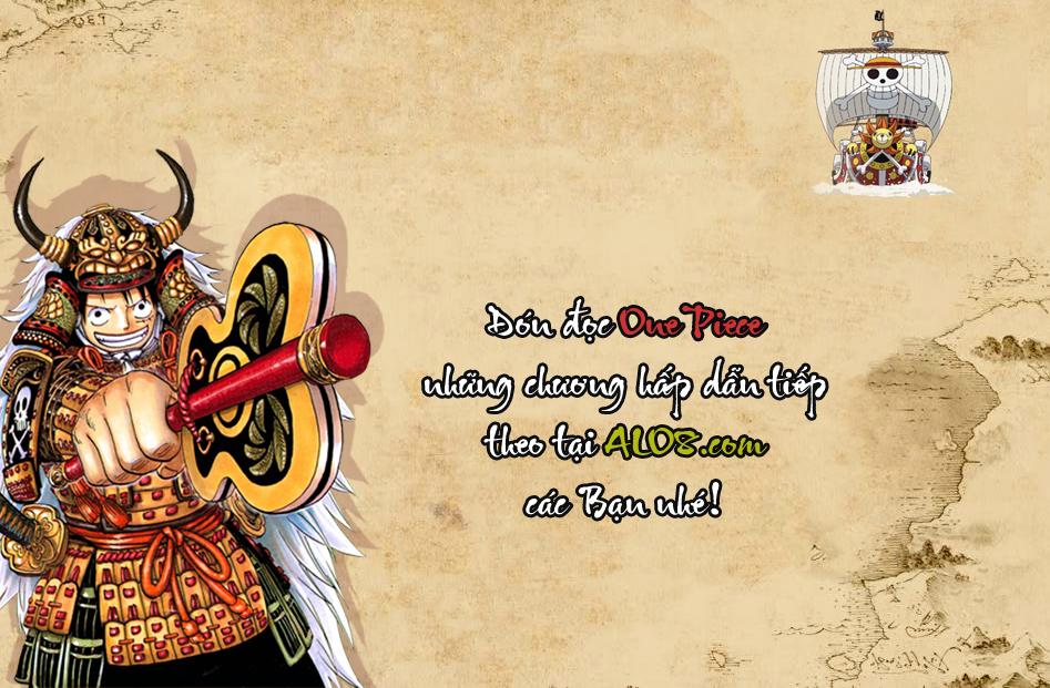 One Piece Chapter 693: Hãy hi sinh vì ta 025