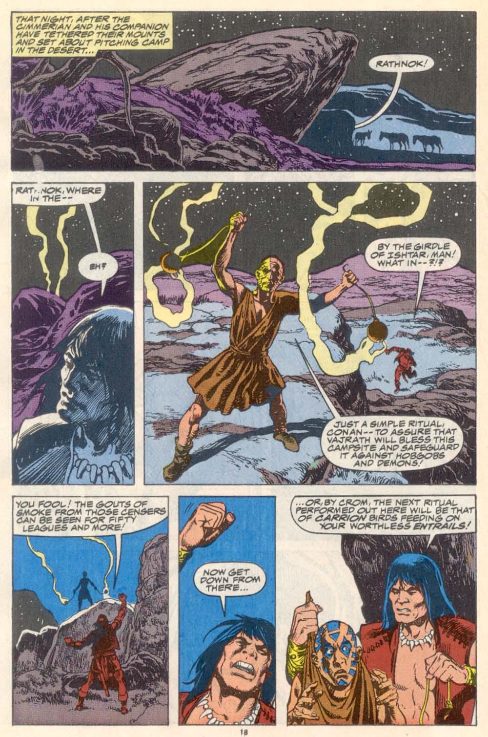 Conan the Barbarian (1970) Issue #223 #235 - English 15