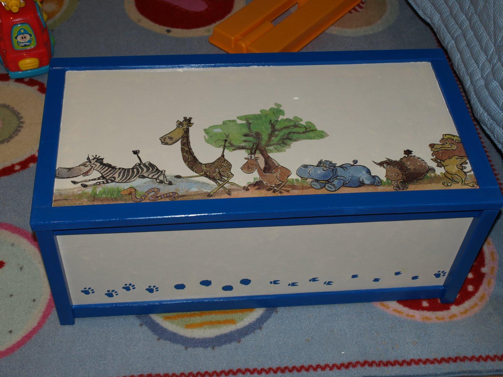 Cosas de catina baul para juguetes - Baul juguetes ...