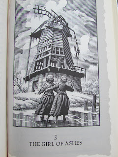 confessions of an ugly stepsister, review, Cinderella, Gregory Maguire, pumpkin carriage, book cover, pretty, illustration, mouse, fairytale, modern, windmill, Holland