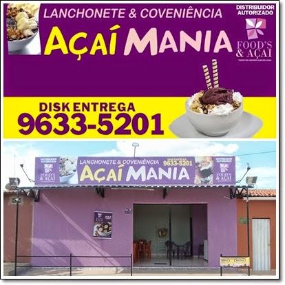 Açai Mania e Food's & Açaí